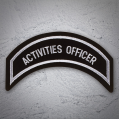 ACTIVITIES OFFICER Patch In Sliver