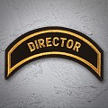 DIRECTOR Patch In New Gold
