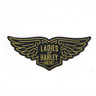 LOH Wings Patch in Gold-Large