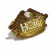 Gold Plated H.O.G. Pin