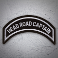 HEAD ROAD CAPTAIN Patch In Silver