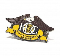 HERITAGE: Eagle Enamel Pin Badge