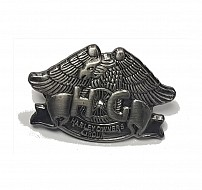 HERITAGE: Eagle Pewter Pin Badge