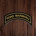 ROAD MARSHALL Patch In New Gold
