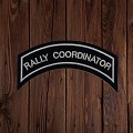 RALLY CO-ORDINATOR Patch In Silver