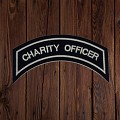 CHARITY OFFICER Patch In Silver