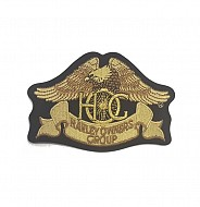 Heritage: Eagle Patch in Gold-Small