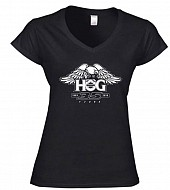 Ladies H.O.G. 35 SoftStyle® V Neck T-Shirt