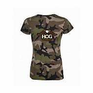 Ladies H.O.G. CAMO T-SHIRT