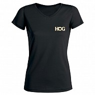 H.O.G Icon T-shirt In Black (Ladies)