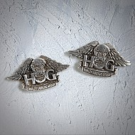 H.O.G. Post Earrings