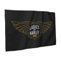 L.O.H. Flag in Black
