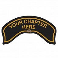 Chapter Rocker Patch