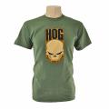 Unisex Skull T-Shirt in Green