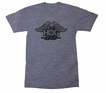 H.O.G. 35 Crew Neck T-Shirt In Heather Midnight