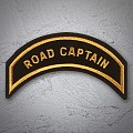 ROAD CAPTAIN 'Chapter Officer Patch in neuem Gold