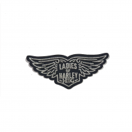 LOH Wings Patch in Silver-Small