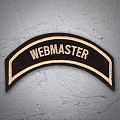 WEBMASTER Patch In Heritage Tan