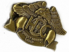 Heritage Pewter Eagle Pin Gold