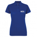 H.O.G Polo T-Shirt In Blue (Ladies)