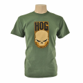 H.O.G Skull T-Shirt In Army Green