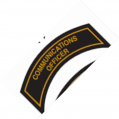 COMMUNICATIONS OFFICER Patch In New Gold