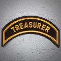 TREASURER Patch In New Gold
