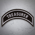 TREASURER Patch In Silver