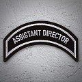 ASSISTANT DIRECTOR Patch In Silver