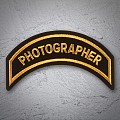PHOTOGRAPHER  Patch In New Gold