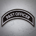 PAST OFFICER Patch In Silver