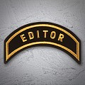 EDITOR Patch In Gold Gold