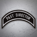 PAST DIRECTOR Patch In Silver Silver
