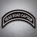 HEAD ROAD CAPTAIN Patch In Silver Silver