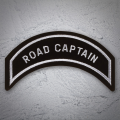 ROAD CAPTAIN Patch In Silver