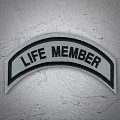 Life Member Patch In Reflective- SMALL Reflective