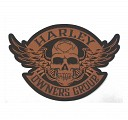 Motorhead Patch In Bronze - LARGE