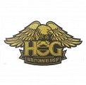 H.O.G. Patch Gold Large