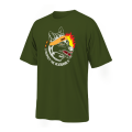 Tough Mudder Wolf T-Shirt - GREEN