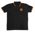 H.O.G Polo In Black/Orange