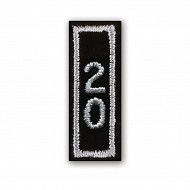 Year 20 Patch - SILVER