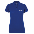 H.O.G Polo T-Shirt In Blue (Ladies)  2XL