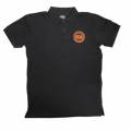 H.O.G Polo In Black  2XL