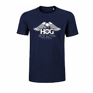 Unisex H.O.G. 35 Cotton T-Shirt in Navy