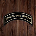 MERCHANDISE OFFICER Patch In Heritage Tan