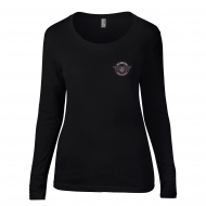 L.O.H Long-Sleeve T-Shirt In Black (Ladies)
