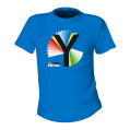 Rainbow Y Unisex  Blue T-Shirt
