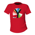 Rainbow Y Unisex Red T-Shirt