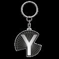 Mono 'Y' Keyring
